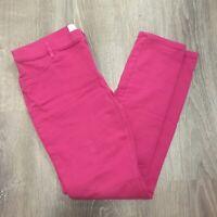 Children's Place Girls Pants Sz 14 Pink Skinny Leggings Stretch Casual TX55