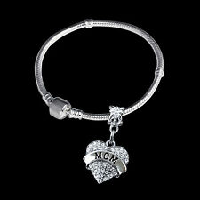 Mom Bracelet Mommy Jewelry Mum gift Mother present Ma bangle mothers day