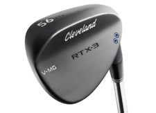 Cleveland RTX-3 V-MG 52-Degree Wedge - Black Satin, Right Hand