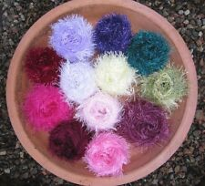 Mixed BALLS CRAFT PACK. FUNKY FUR COLOUR MIX knitting/crochet YARN. 200g. YARN