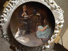 "Knowles Plate, Norman Rockwell, ""The Storyteller"", No papers included"