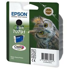 Epson Stylus Claria Photographic T0791 Ink Cartridge Inkjet Printer (Black)