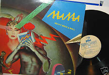 MAMA HEAVY ROCK AND ROLL RARE  METAL LP 1987 VG+/VG+ PRIVATE HARD ROCK