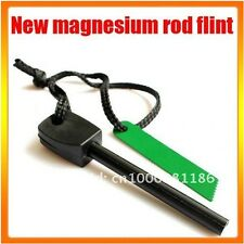 LARGE Fire Starter Lighter Magnesium FLINT ROD Camping Survival Fishing Hunting