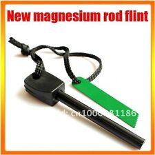 LARGE Fire Starter Lighter Magnesium FLINT ROD Camping Survival Fishing Hunting