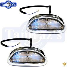 55 Chevy Parking Turn Light Lamp Lens Housing - Lenses Housings Lamps - Pair