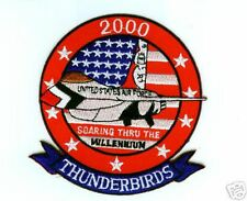 USAF THUNDERBIRDS F-16 FIGHTING FALCON DISPLAY TEAM Y2K MILLENNIUM PATCH