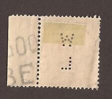 """GB George V, con Perfin """"W L"""" 2 X Escanea"""