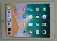 Apple iPad (5th Gen) A1823 9.7 128GB GSM Unlocked 4G + WiFi Tablet SILVER GREAT