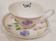 Maxwell & Williams Butterfly Garden Fine China Tea Cup & Saucer
