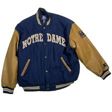 New listing Vintage Notre Dame Wool Lettermen Varsity Jacket by Starter - Men's XL