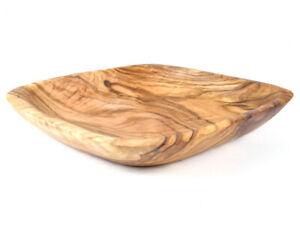 Schale Schälchen Knabberschale aus Olivenholz Holz 17 x 17 cm