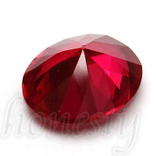 9x11mm UNHEATED Pigeon Blood Red Sapphire Lustrous Loose GEMSTONE Gem