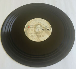 """Pacific Northwest Bell Advertising ~12"""" Acetate Record - PT#25 1962 Yellow Pages"""