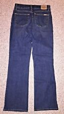 Levi's Strauss Signature Womens Blue Jeans Boot Cut Size Misses 4 Medium