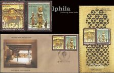 Toys Dolls Craft Museum India FDC Folder 2010 handicrafts Inde Textiles design