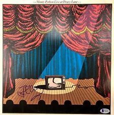 JOHN CLEESE AUTOGRAPHED MONTY PYTHON LIVE AT DRURY LANE BAS COA RECORD ALBUM
