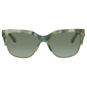 Tory Burch Sunglasses TY7117 17148E Green Moonstone Frames Green Lens 55mm ST*