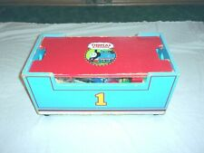 2001 LIFT AND LOAD THOMAS AND FRIENDS WOODEN RAILROAD 99.9% PLUS EXTRA TRAINS