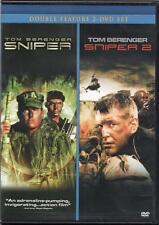 Sniper / Sniper 2 (DVD 2 disc) Tom Berenger NEW