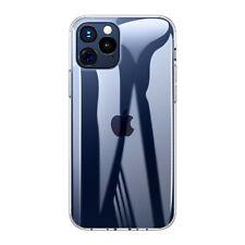 Para iPhone 13 12 Pro Max 11 XS Xr X 8 7 6 Funda Trasera Silicona Cristal Claro