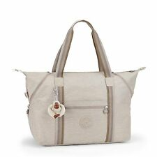 BNWT Kipling ART M Medium Travel Tote Bag PASTEL BEIGE C - SPF2017 RRP £99