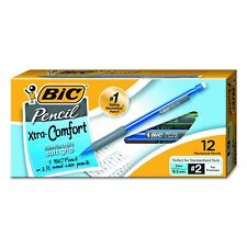 BIC Matic Grip Mechanical Pencil, Fine Point (0.5 mm), 12-Count, Assorted Colors