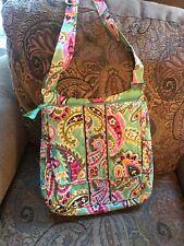Vera Bradley MailBag Tutti Frutti Messenger Bag Crossbody Purse Handbag