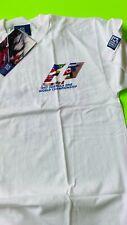 New Old Stock FIA Formula 1 1997 World Tour T Shirt, Men, Short Sl, White, M