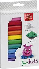 For Kids! Knete in 12 Farben - Kinderknete - 12 Stangen - Knete zum Modellien