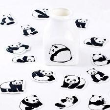 45X Panda Mini adesivo di carta decoro DIY scrapbooking etichetta adesiva WQI