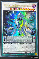 D/D/D ARMAGEDDON BRILLANTE SUPER RE  DEL GIUDIZIO BLLR-IT007 Ultra Italia YUGIOH