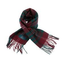 Scottish 100 % Lambswool Tartan Clan Scarf Crawford Brand New Made In Scotland
