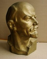 Russian soviet MARBLE bust sculpture statue realism LENIN unique stone LARGE