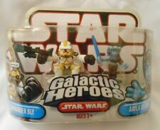 NEW Galactic Heroes Star Wars Commander Bly Aayla Secura 2008