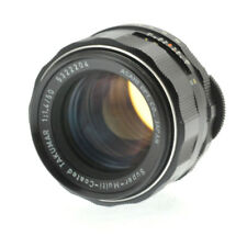 Asahi Pentax Super-Multi-Coated Takumar 50mm f1.4 manual focus lens for M42 SLR