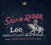 New Lee 101 Storm Rider T-shirt  Made in USA All Men's Sizes Free Shipping