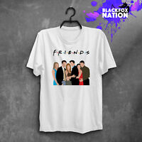 Pivot Friends TV Show Graphic Printed Tee Tumblr Short Sleeve Friends TV T-Shirt