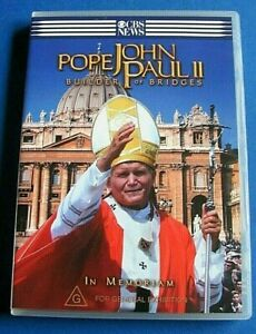 POPE JOHN PAUL II Builder of Bridges DVD Region 4