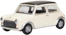 Oxford Diecast 76MCS004 Mini Cooper S MkII Snowberry White Black OO Gauge