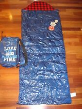NEW Victoria's Secret Sleeping Bag PINK & Pouch Collector's ITEM EXTREMELY RARE
