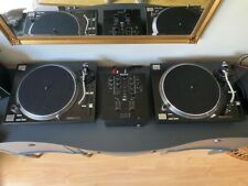 More details for reloop rp7000 mk2 decks with numark m2 mixer and leads