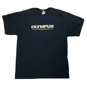 Olympus Recorder Capture It All Shirt Sz Large LS-10 Double Sided Short Sleeve