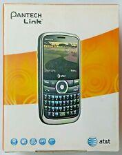 Pantech Link - Black At&T Cellular Qwerty Keyboard Phone 3G 1.3 MegaPixel