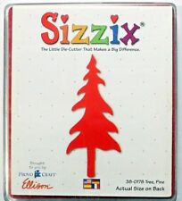 Sizzix Die Pine Tree House Forest Scrapbook Diecut CardMaking Crafts Nature NEW!