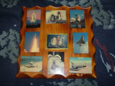Space shuttle montage and pin