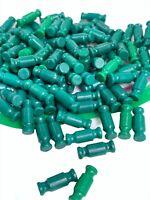 "Lot of 100 K'NEX Green 3/4"" Standard Rods Bulk Lot Replacement Parts Pieces"