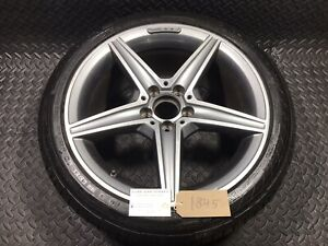 "Mercedes C Class W205 18"" 8.5j Alloy Wheel A2054011200 245/40R18  Continental"
