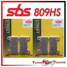 Pasticche Anteriori SBS HS Sinter Per HONDA CBR RR 1000 2004 2005 2006  (809HS)