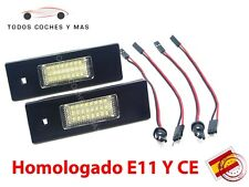 PLAFONES LED MATRICULA BMW E81 E86 E87 E63 E64 HOMOLGADOS E11 LUCES LUZ ENVIO 24